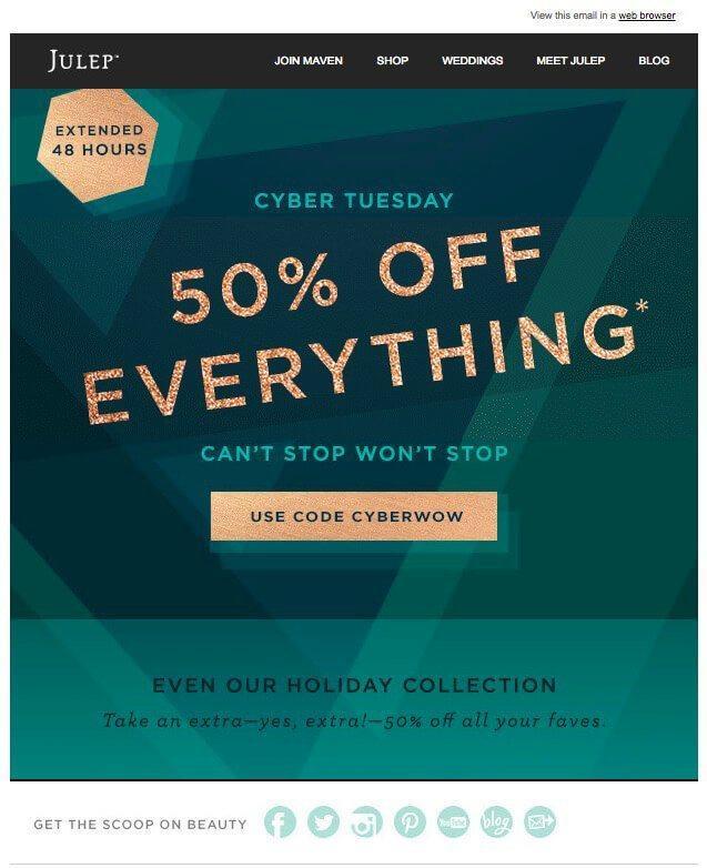 Email marketing - black friday - última hora
